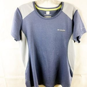 (7-056) Columbia L Top Nearly New